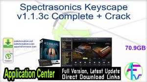 Spectrasonics Keyscape Crack